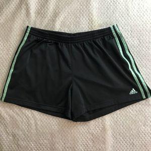 Women's Adidas Large Dark Gray Shorts